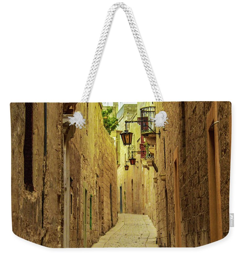 On The Streets Of Malta - Weekender Tote Bag