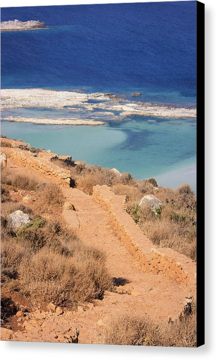 Pathway To The Sea - Canvas Print