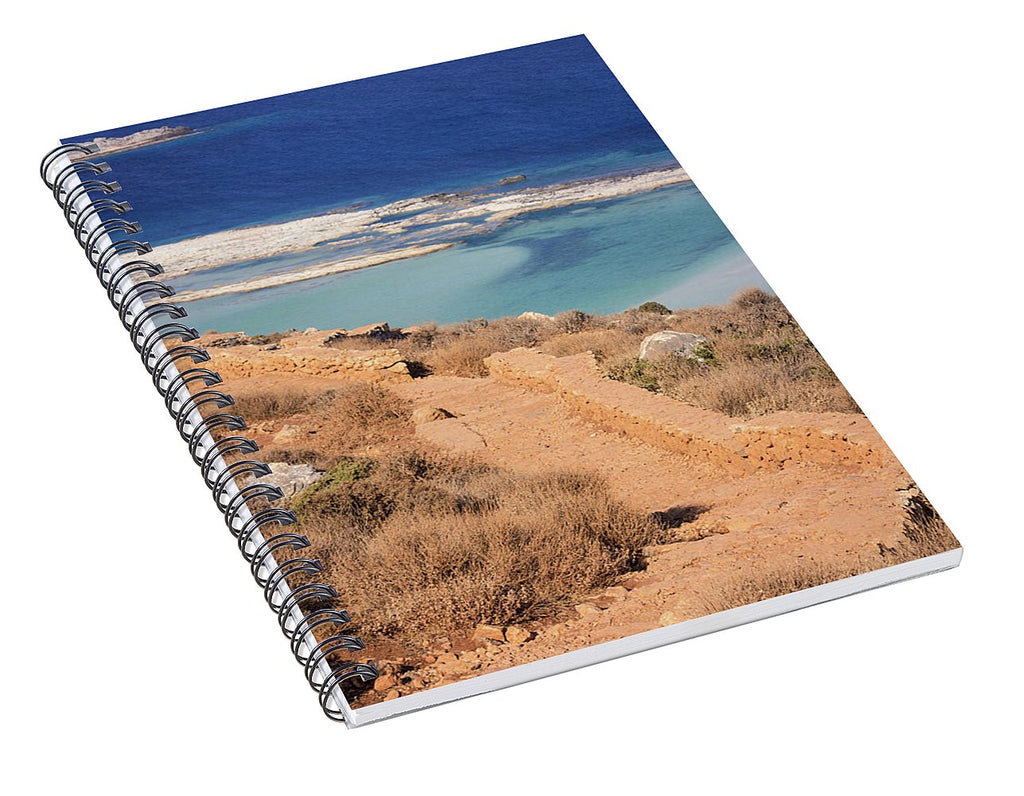 Pathway To The Sea - Spiral Notebook