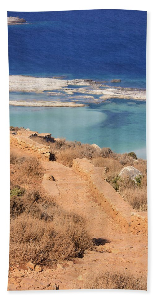 Pathway To The Sea - Beach Towel