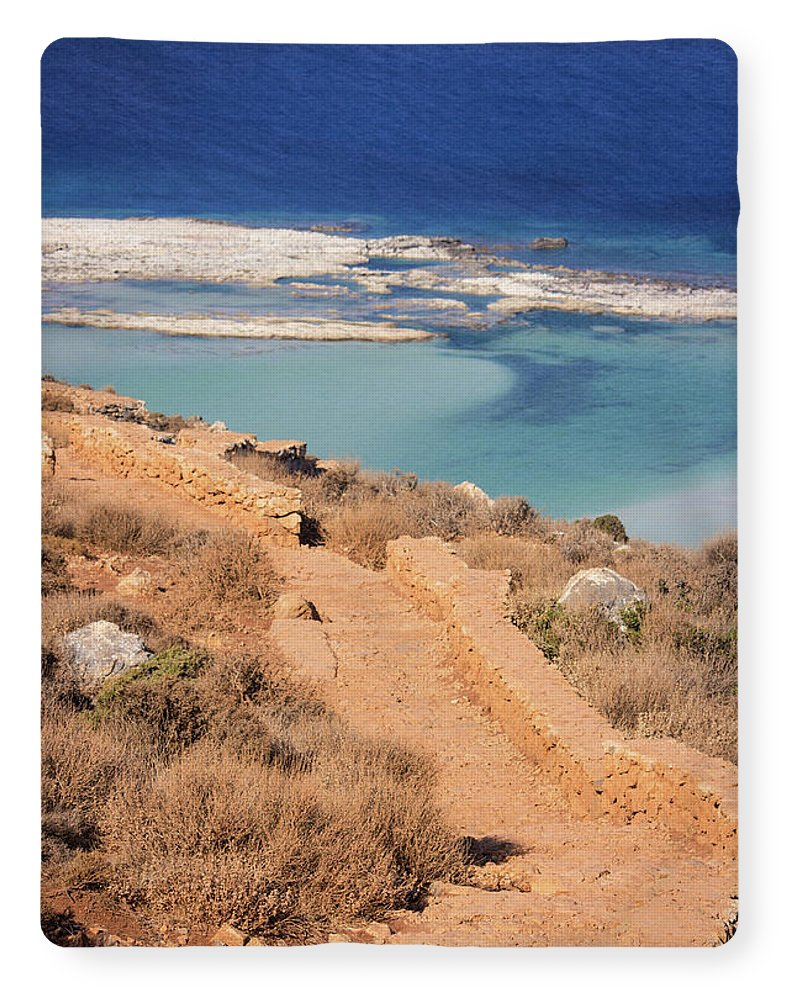 Pathway To The Sea - Blanket