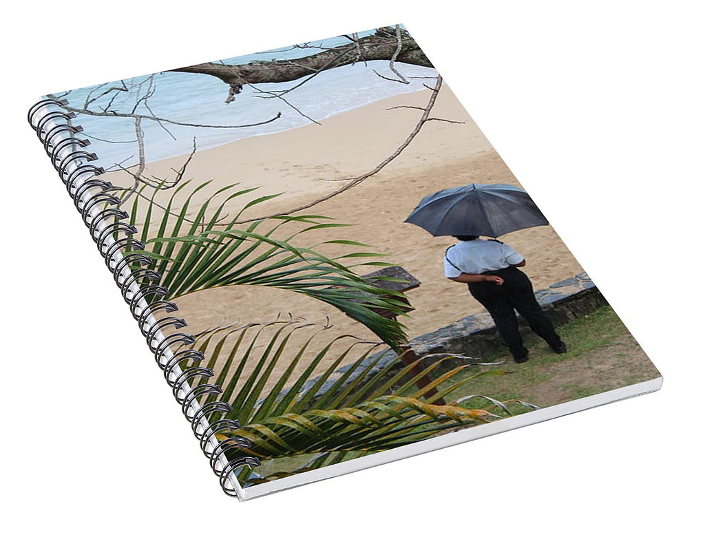 Rainy Day - Spiral Notebook