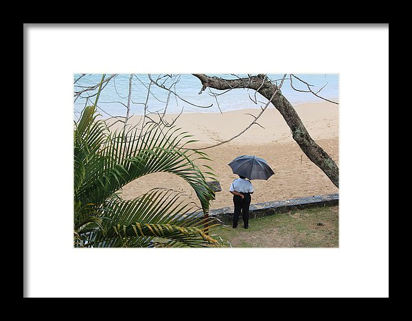 Rainy Day - Framed Print