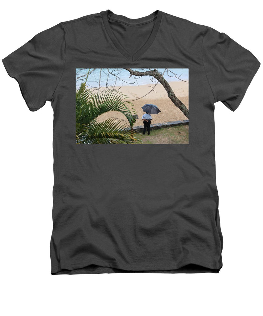 Rainy Day - Men's V-Neck T-Shirt