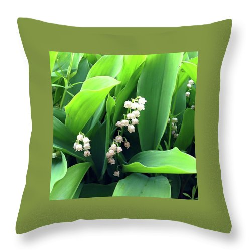 Return Of The Happiness - Throw Pillow
