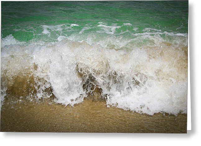 Sea Waves - Greeting Card