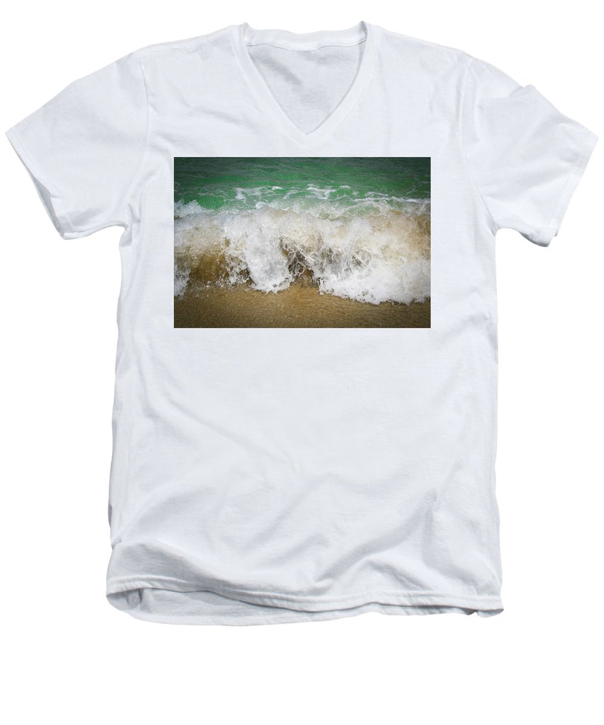 Sea Waves - Men's V-Neck T-Shirt
