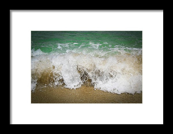 Sea Waves - Framed Print