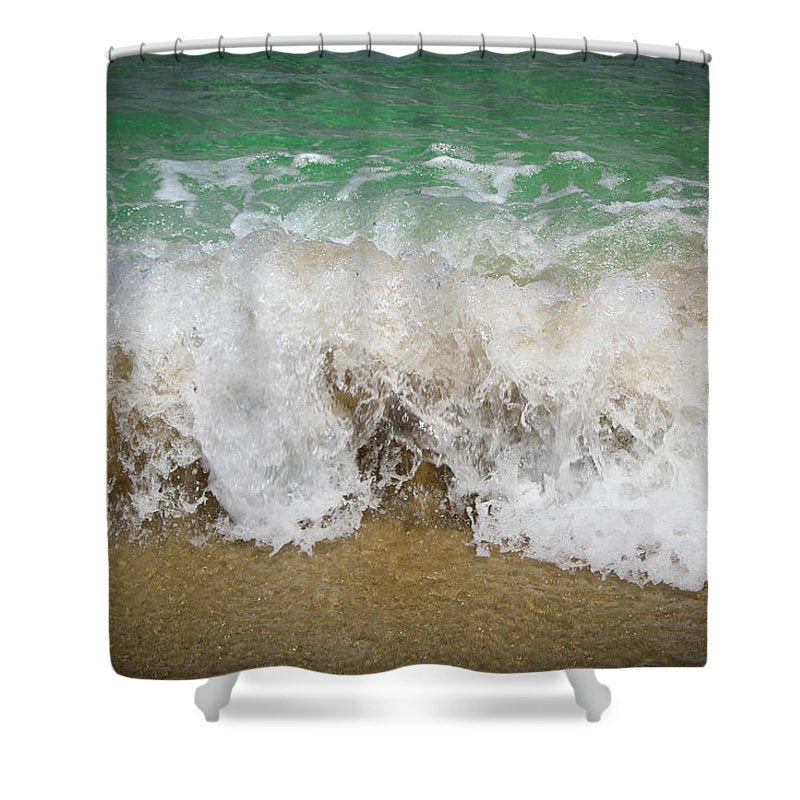 Sea Waves - Shower Curtain