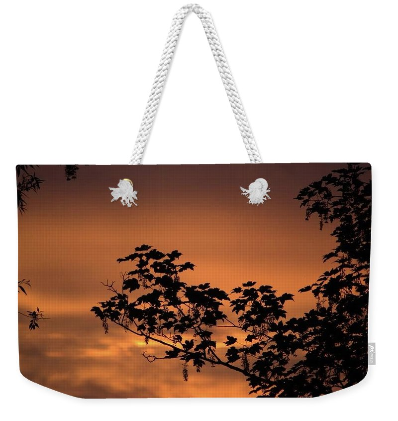 Sky On Fire - Weekender Tote Bag