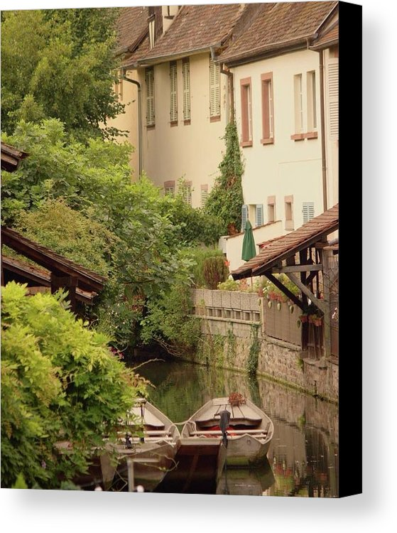 Small Venice Of Colmar - Canvas Print