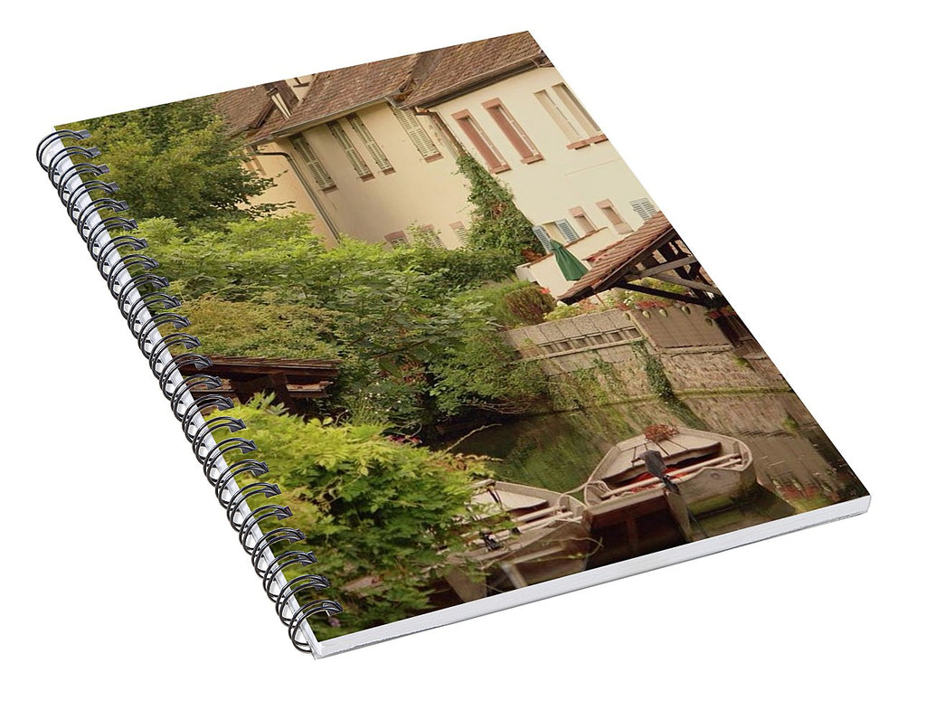 Small Venice Of Colmar - Spiral Notebook