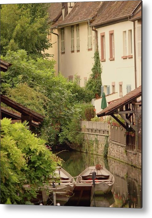 Small Venice Of Colmar - Metal Print