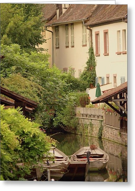 Small Venice Of Colmar - Greeting Card
