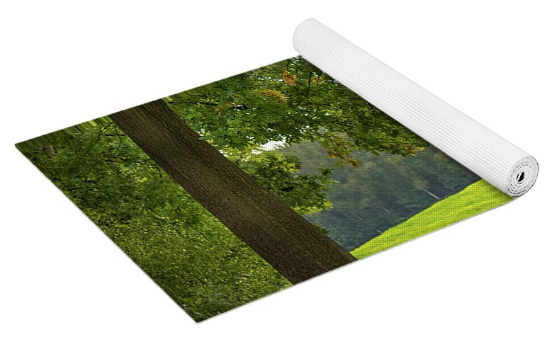 Splendid View In Autumn - Yoga Mat