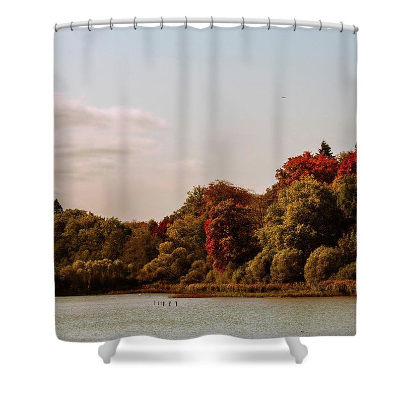 Stunning Surroundings In La Hulpe, Belgium - Shower Curtain