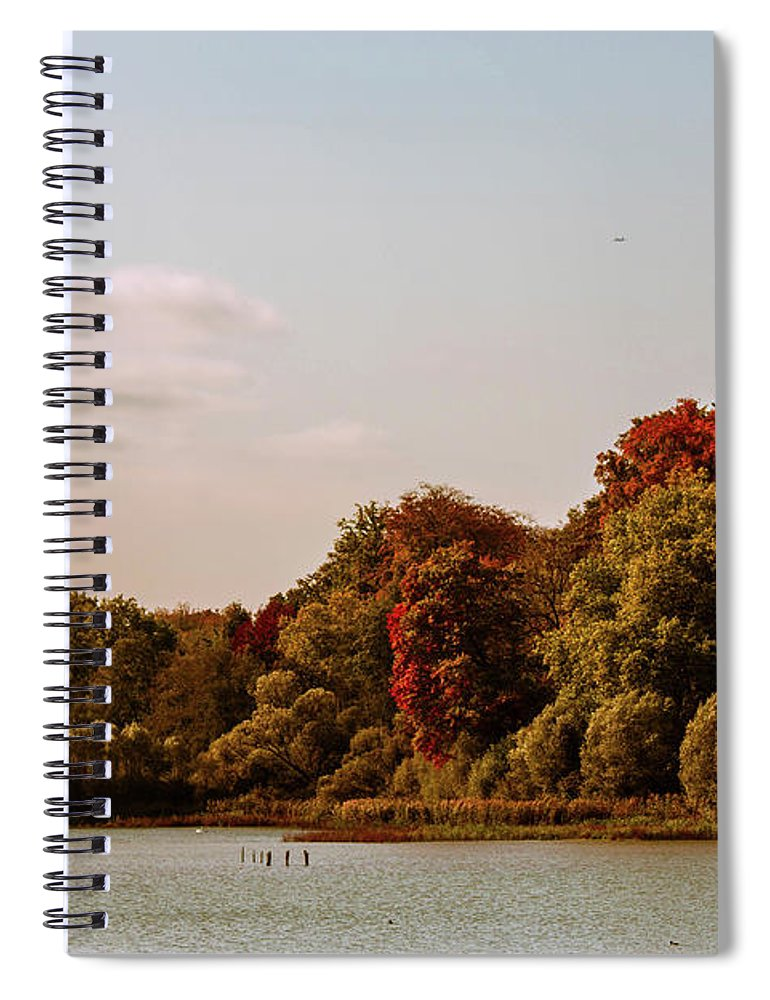 Stunning Surroundings In La Hulpe, Belgium - Spiral Notebook
