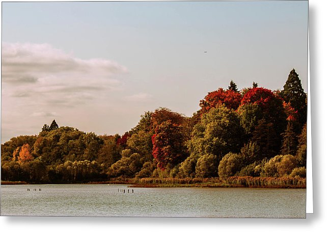 Stunning Surroundings In La Hulpe, Belgium - Greeting Card