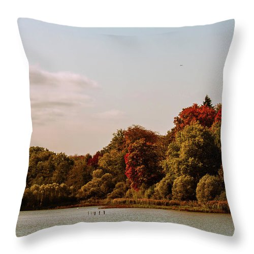 Stunning Surroundings In La Hulpe, Belgium - Throw Pillow