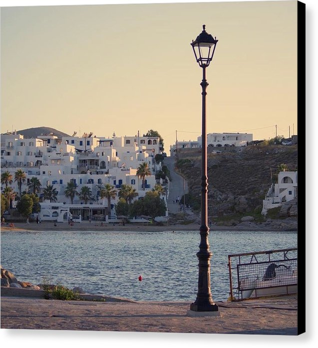 Sunset In Cyclades - Canvas Print