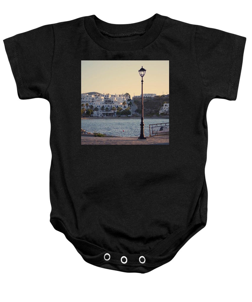 Sunset In Cyclades - Baby Onesie