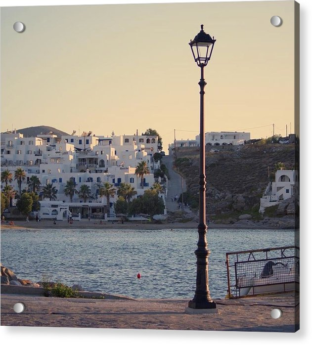 Sunset In Cyclades - Acrylic Print