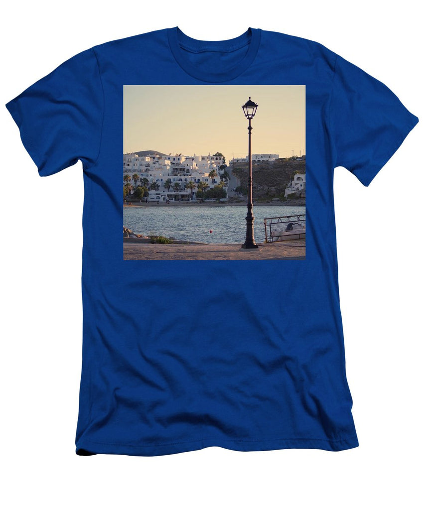 Sunset In Cyclades - Men's T-Shirt (Athletic Fit)