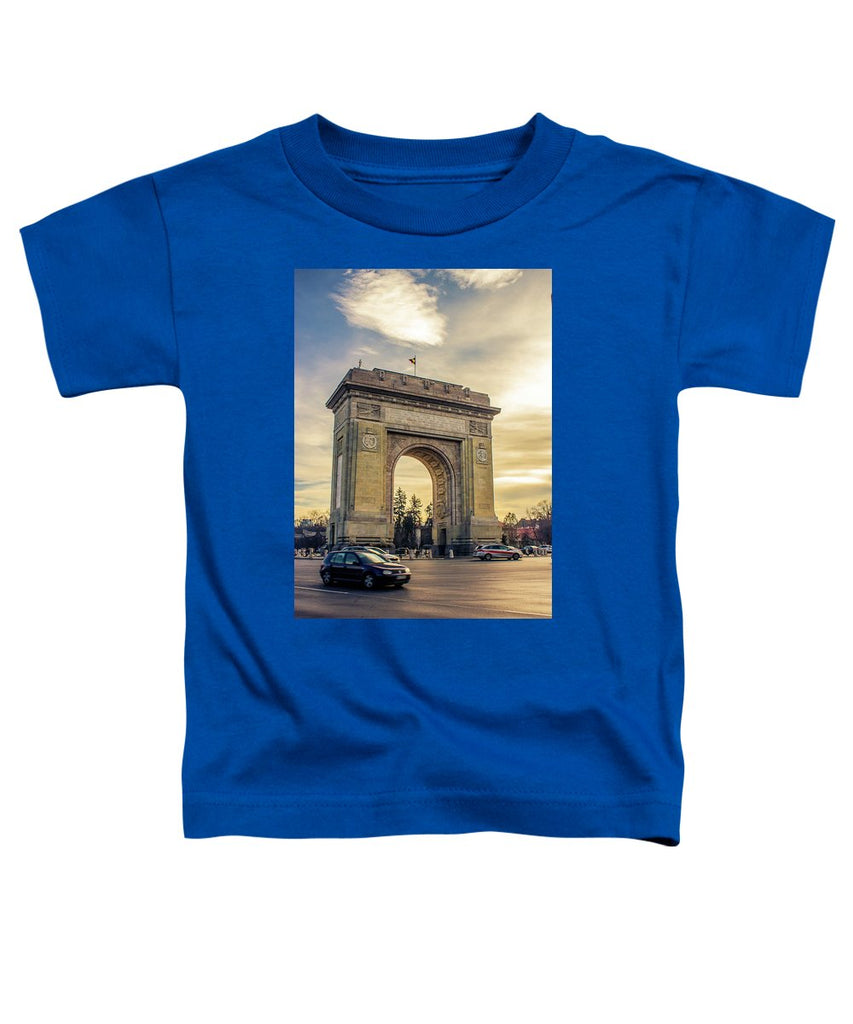 Triumphal Arch Bucharest - Toddler T-Shirt