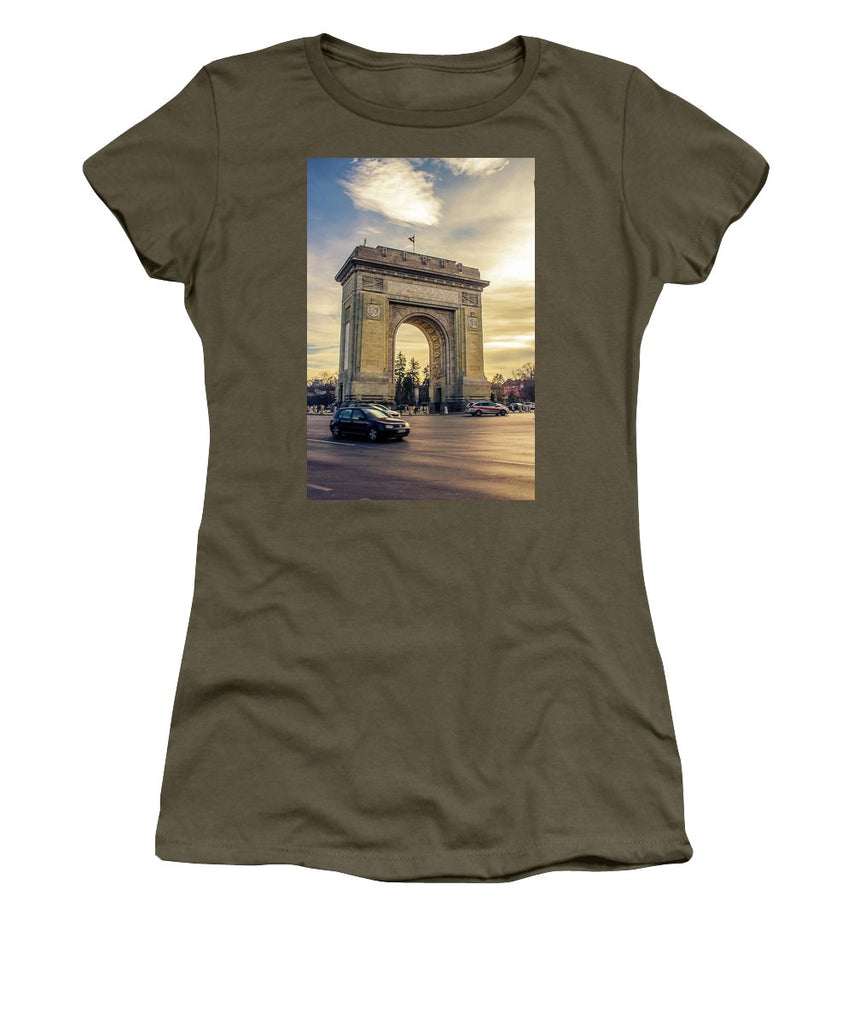 Triumphal Arch Bucharest - Women's T-Shirt
