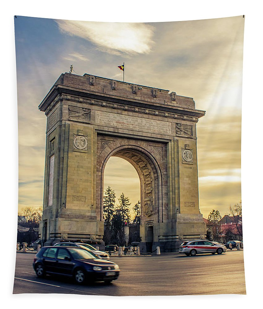 Triumphal Arch Bucharest - Tapestry