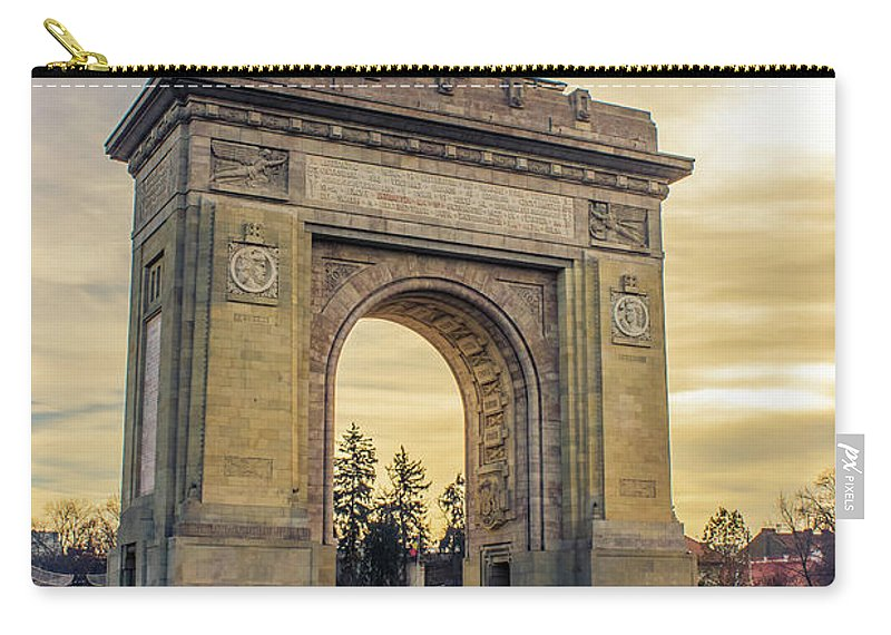 Triumphal Arch Bucharest - Carry-All Pouch