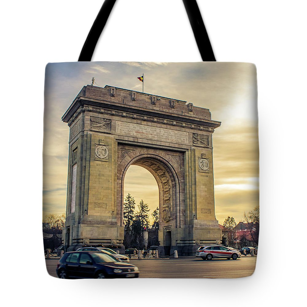 Triumphal Arch Bucharest - Tote Bag