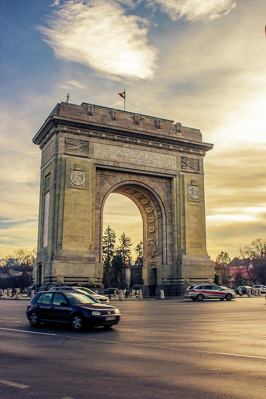 Triumphal Arch Bucharest - Art Print