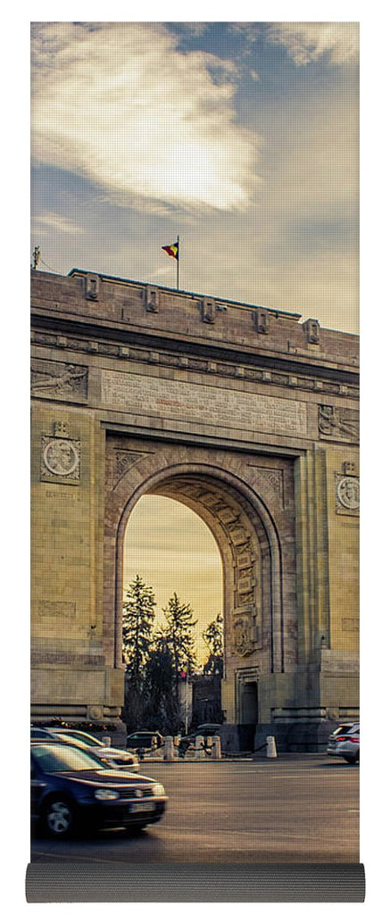 Triumphal Arch Bucharest - Yoga Mat