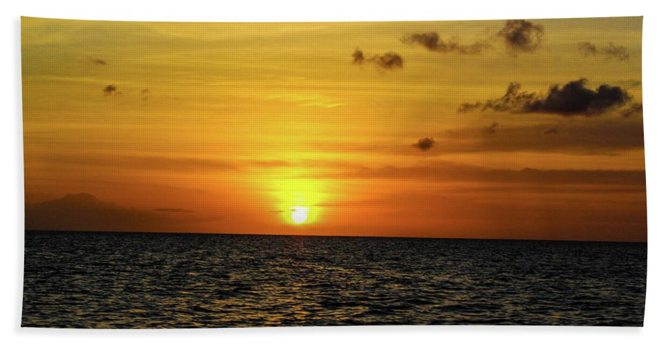 Tropical Sunset - Beach Towel