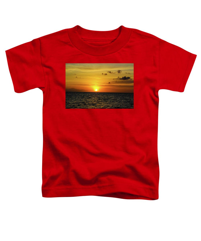 Tropical Sunset - Toddler T-Shirt
