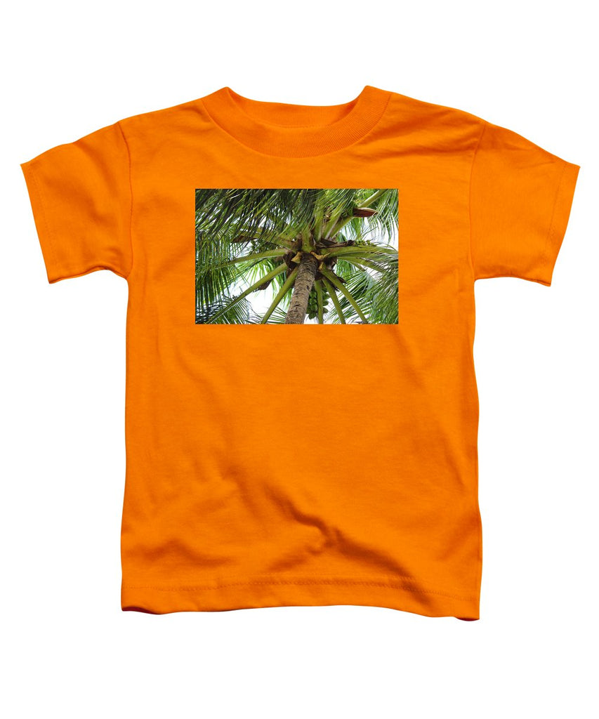 Under The Coconut Tree - Toddler T-Shirt