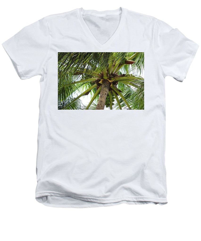 Under The Coconut Tree - Men's V-Neck T-Shirt