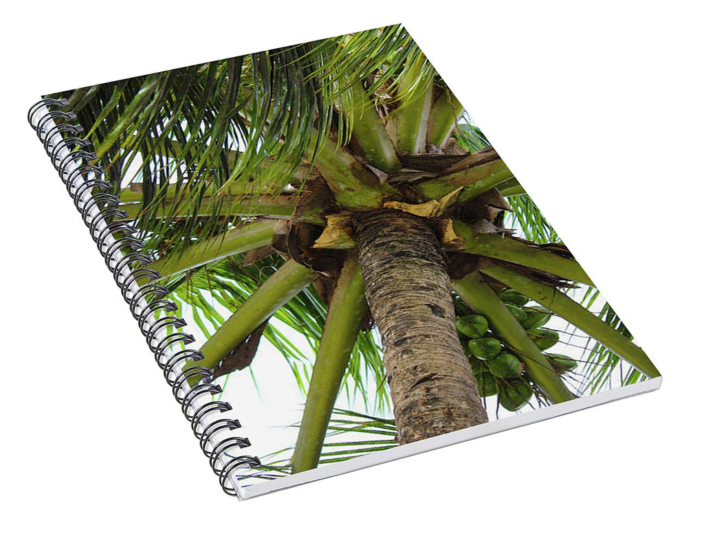 Under The Coconut Tree - Spiral Notebook