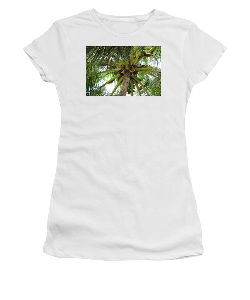Under The Coconut Tree - Women's T-Shirt (Athletic Fit)