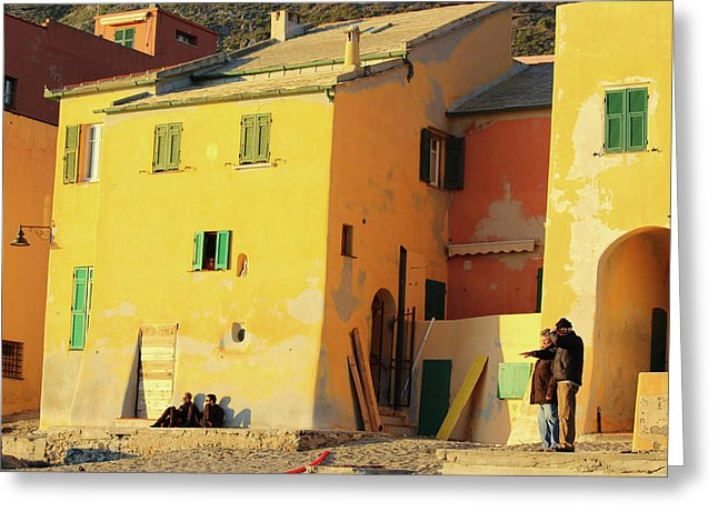 Under The Ligurian Sun - Greeting Card
