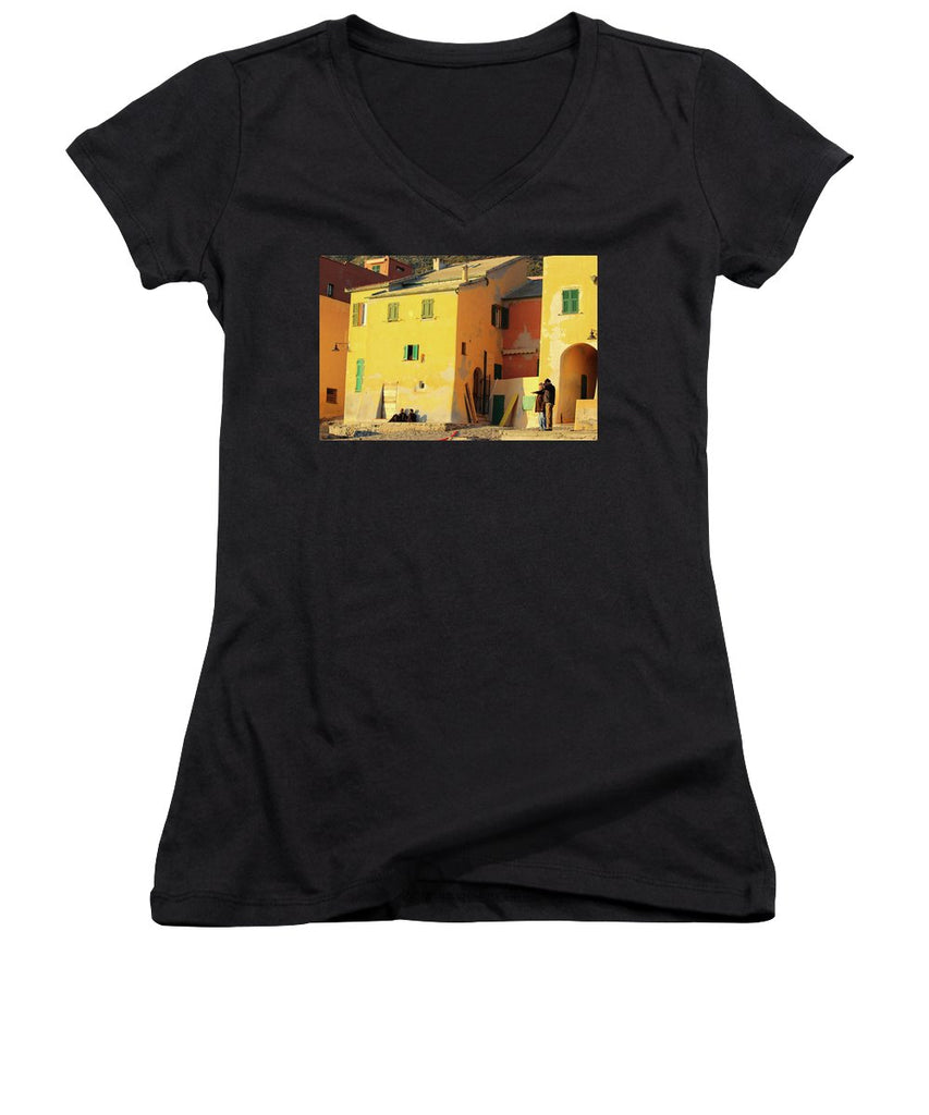 Under The Ligurian Sun - Women's V-Neck