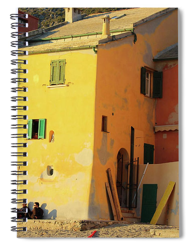 Under The Ligurian Sun - Spiral Notebook