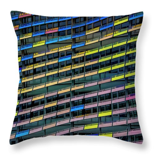 Urban Decay - Throw Pillow