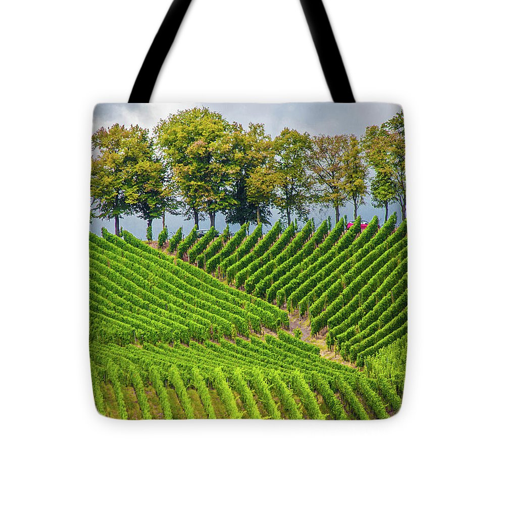 Vineyards In The Grand Duchy Of Luxembourg - Tote Bag