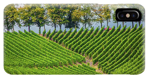 Vineyards In The Grand Duchy Of Luxembourg - Phone Case
