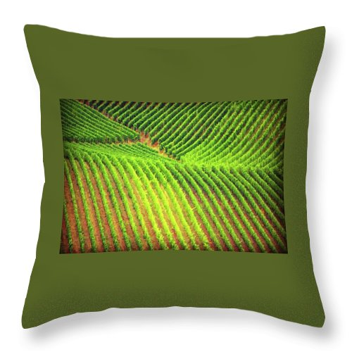 Vineyards  - Throw Pillow
