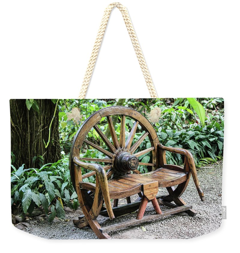 Wheel Bench - Weekender Tote Bag