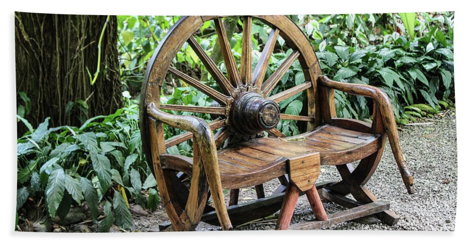 Wheel Bench - Bath Towel