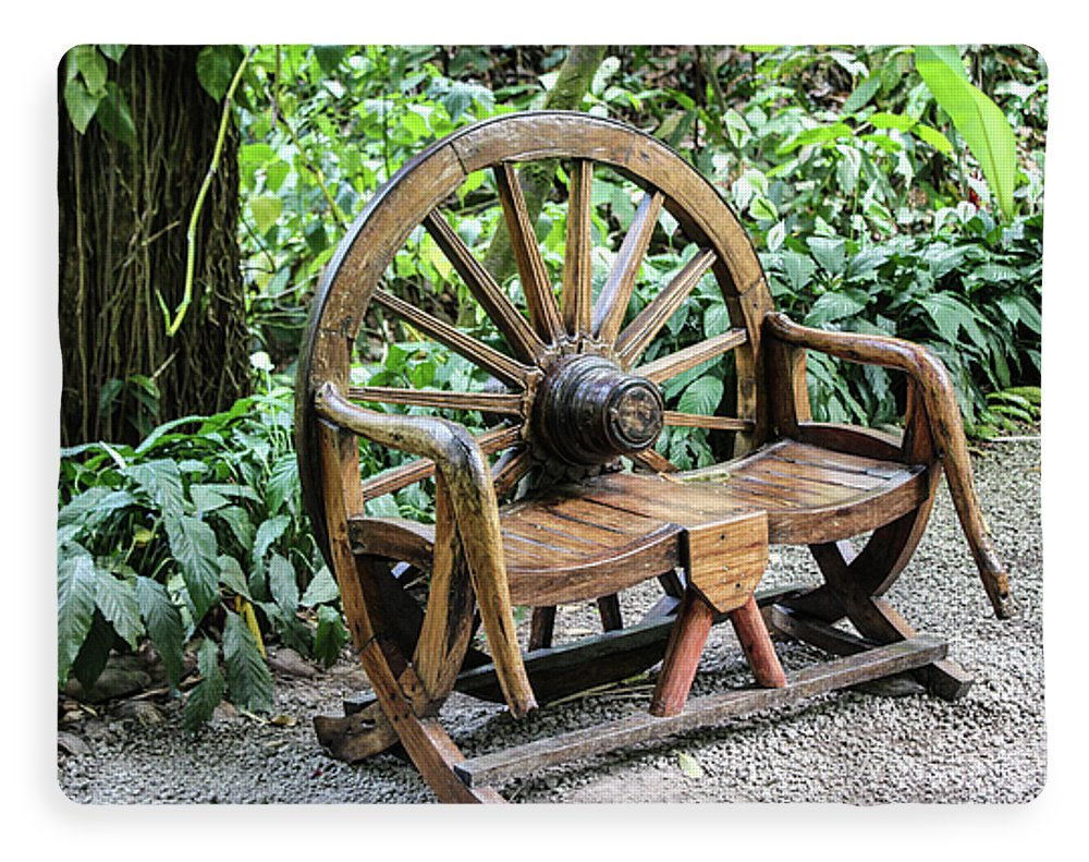 Wheel Bench - Blanket